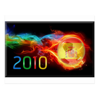 Spain World 2010 Champions Postcard