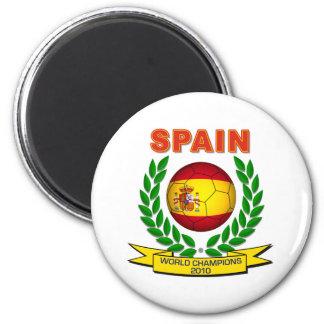 Spain World Champion 2010 2 Inch Round Magnet