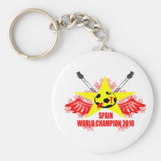 SPAIN WORLD CHAMPION 2010 KEYCHAINS