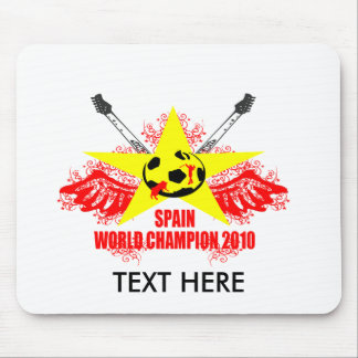 SPAIN WORLD CHAMPION 2010 MOUSE PAD