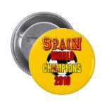 Spain World Champions 2010 Button