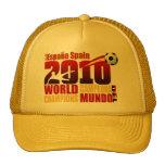Spain World Champions 2010 España Campeona Del Mun Mesh Hats