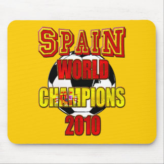 Spain World Champions 2010 Mouse Pad