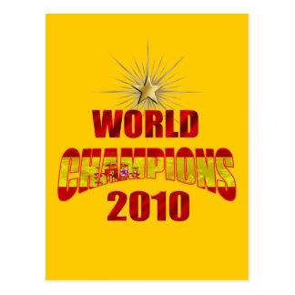 Spain World Champions 2010 Postcard