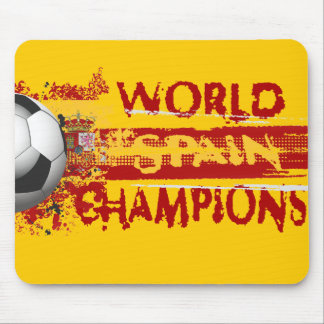 Spain World Champions Grunge 2010 Gift Mouse Pad