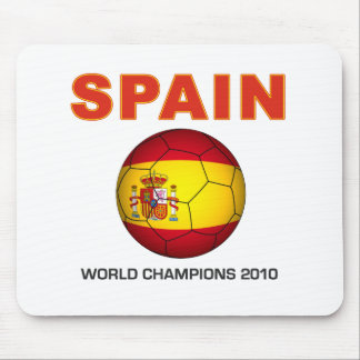 Spain World Cup 2010 Champion South Africa Mouse Pad