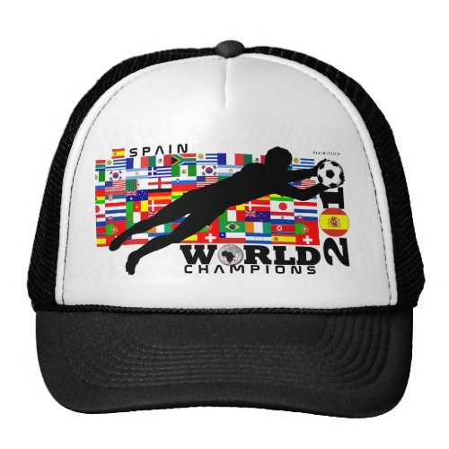 Spain World Cup 2010 Champions Hat hat