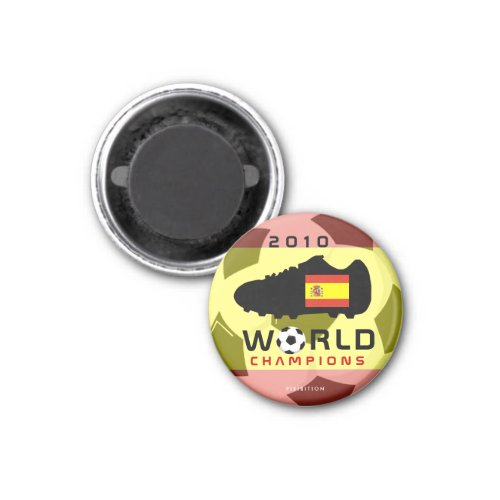Spain World Cup 2010 Champions Shoe Magnet magnet