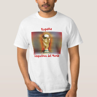 Spain World Cup Champions T-Shirt
