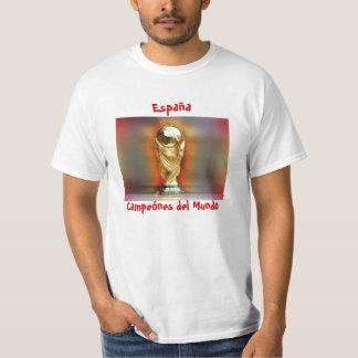 Spain World Cup Champions Tee Shirt