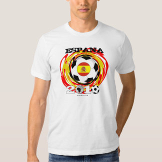 Spain World Cup T-Shirt Twirl