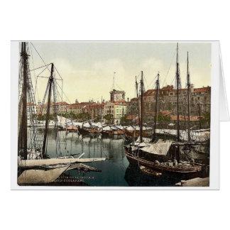 Spalato, Diocletian's Palace, Dalmatia, Austro-Hun Greeting Card