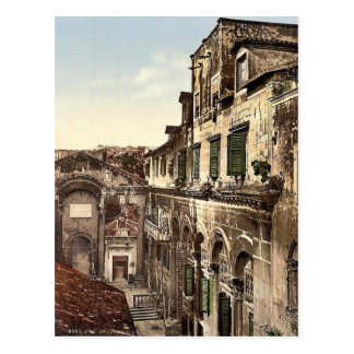 Spalato, Diocletian's Palace, the Peristyle, Dalma Postcards