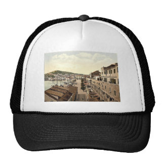 Spalato, the water front, Dalmatia, Austro-Hungary Trucker Hat