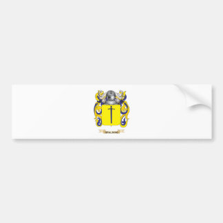 Spalding Coat of Arms (Family Crest) Bumper Sticker