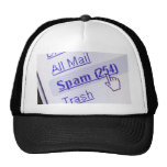 Spam in mailbox hats