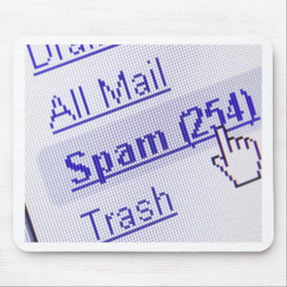 Spam in mailbox mouse pad