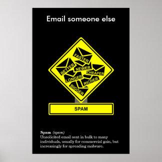 Spam Information Security Awareness Poster