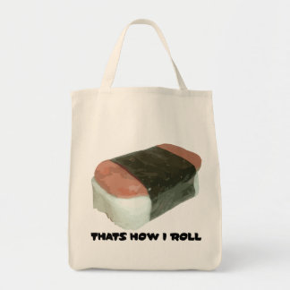 Spam Musubi むすび That's How I Roll Nigiri Tote Bag