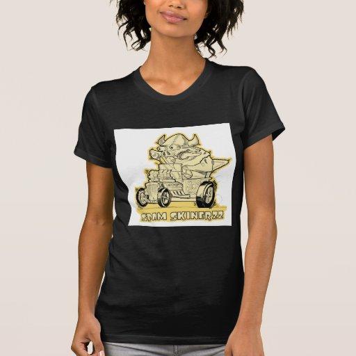 spam skinerzz hot rod monster! tshirt