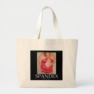 Spandex! Large Tote Bag