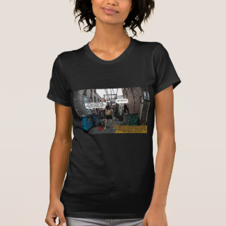 spandex woman annoyed T-Shirt