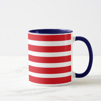 Spangled Banner - American Flag and your Initials Mug