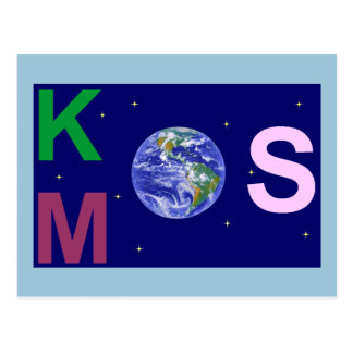 Spangled Kosmos Postcard