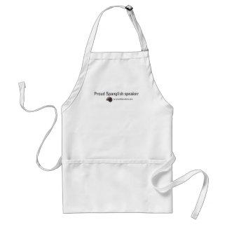 Spanglish collection adult apron