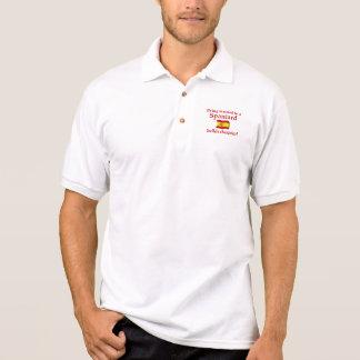Spaniard Builds Character Polo T-shirt