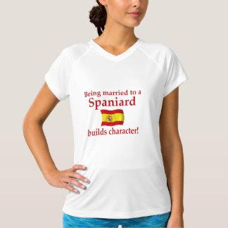 Spaniard Builds Character T-Shirt