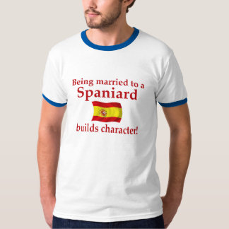 Spaniard Builds Character T Shirt