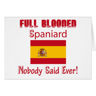 Spaniard  design card