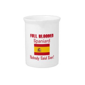 Spaniard  design drink pitcher