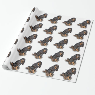 SPANIEL 2 WRAPPING PAPER