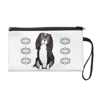 Spaniel, Cosmetic or small change Bags Wristlet Purses