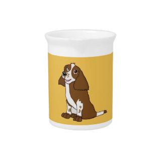Spaniel design home ware beverage pitcher