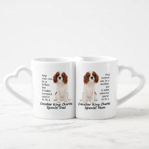 Spaniel Mom And Dad Mug Set