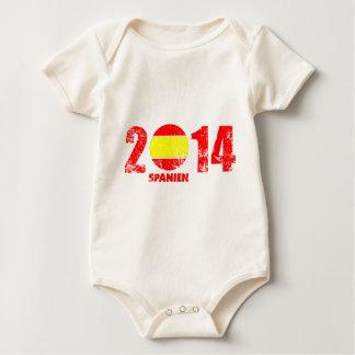 spanien_2014.png baby bodysuit