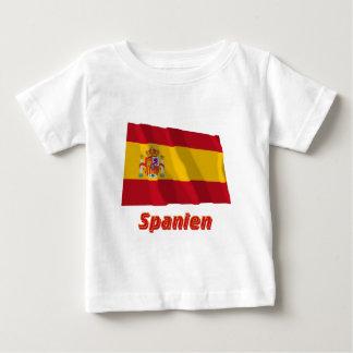 Spanien Fliegende Dienstflagge mit Namen Tee Shirts