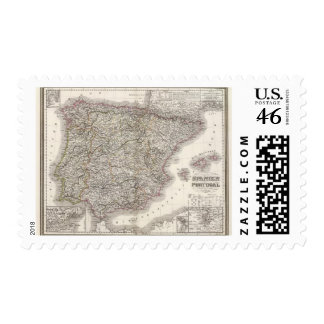 Spanien, Portugal Postage Stamp