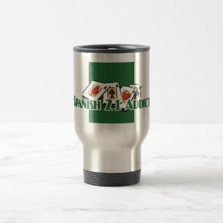 Spanish 21 Addict's travel mug