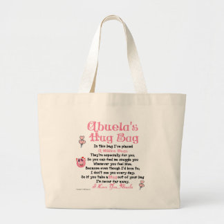 Spanish -  Abuela  - Single Verse Canvas Bag