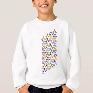 Spanish Alhambra style Tile Mosaic Pattern Sweatshirt
