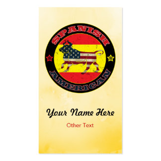 Spanish American Bull Custom Business Cards