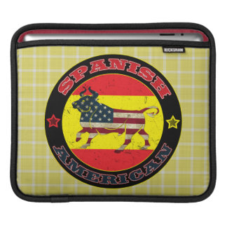 Spanish American Bull iPad Case