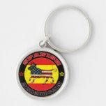 Spanish American Bull Keychains