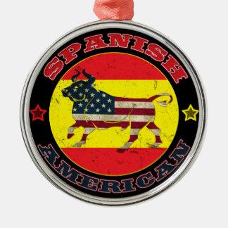 Spanish American Bull Metal Ornament