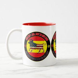 Spanish American Bull Mug