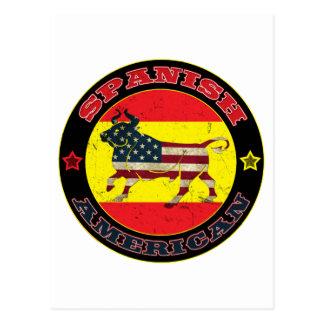 Spanish American Bull Post Card